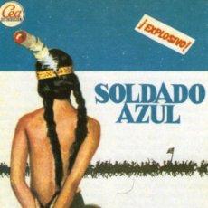 Cine: SOLDADO AZUL - PETER STRAUSS, CANDICE BERGEN - REPRODUCCION PROGRAMA DE MANO CINE. Lote 27561817