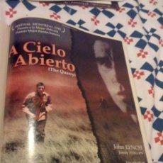 Cine: 'A CIELO ABIERTO'. BÉLGICA. PÁGINA DE PRENSA.. Lote 25113184