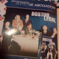Cine: SERIE DE TV 'BOSTON LEGAL', CON JAMES SPADER. PUBLICIDAD EN PRENSA.. Lote 25265435