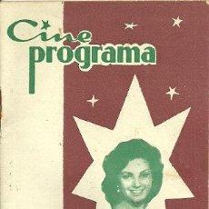 Cine: CARMEN SEVILLA REVISTA CINE PROGRAMA . Lote 25374760