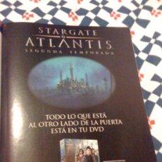 Cine: SERIE DE TV 'STARGATE ATLANTIS'. PUBLICIDAD EN PRENSA.. Lote 25392302