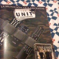 Cine: SERIE DE TV 'THE UNIT'. PUBLICIDAD EN PRENSA.. Lote 25392407