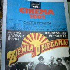 Cine: CINEMA 2002 NUMERO 20 AÑO 76. Lote 25482323