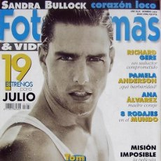 Cine: MAGAZINE FOTOGRAMAS & VIDEO 1996 Nº1833 (TOM CRUISE) SPAIN. Lote 25554290