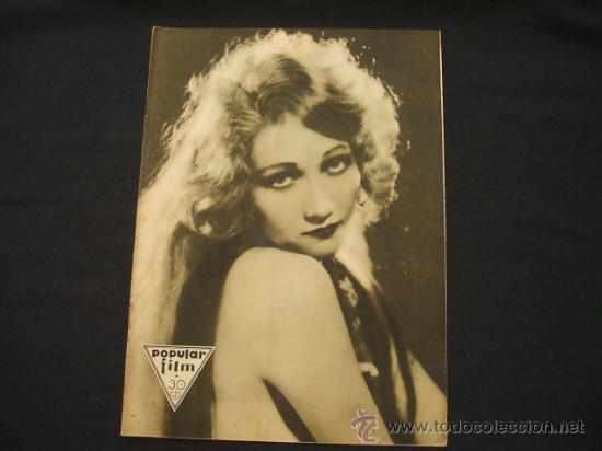 POPULAR FILM - AÑO VI - Nº 240 - 19 MARZO 1931 - (Cine - Revistas - Popular film)