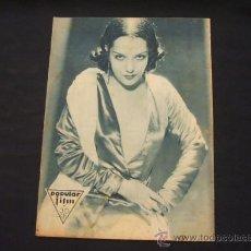 Cine: POPULAR FILM - AÑO VI - Nº 255 - 2 JULIO 1931 - . Lote 25579596
