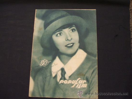 POPULAR FILM - AÑO IV - Nº 171 - 7 NOVIEMBRE 1929 - (Cine - Revistas - Popular film)