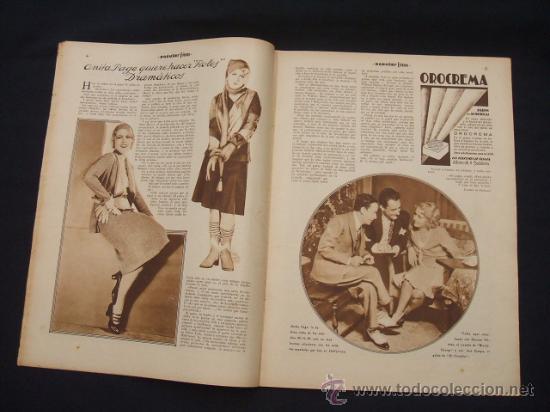 Cine: POPULAR FILM - AÑO VI - Nº 240 - 19 MARZO 1931 - - Foto 5 - 25579413