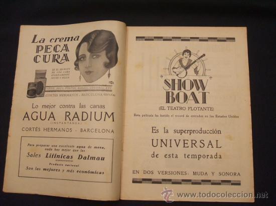 Cine: POPULAR FILM - AÑO IV - Nº 171 - 7 NOVIEMBRE 1929 - - Foto 2 - 25581447