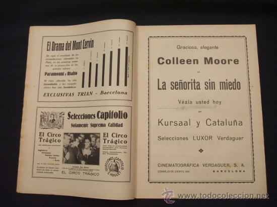 Cine: POPULAR FILM - AÑO IV - Nº 171 - 7 NOVIEMBRE 1929 - - Foto 3 - 25581447
