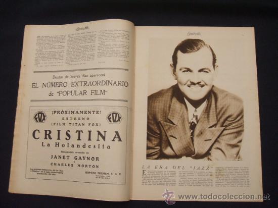 Cine: POPULAR FILM - AÑO IV - Nº 171 - 7 NOVIEMBRE 1929 - - Foto 5 - 25581447