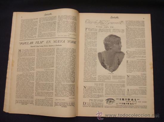 Cine: POPULAR FILM - AÑO IV - Nº 171 - 7 NOVIEMBRE 1929 - - Foto 6 - 25581447