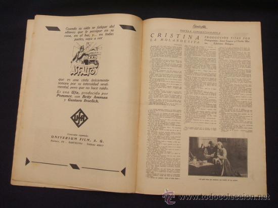 Cine: POPULAR FILM - AÑO IV - Nº 171 - 7 NOVIEMBRE 1929 - - Foto 10 - 25581447