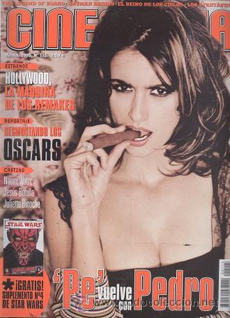 REVISTA CINEMANIA, Nº 115, ABRIL 2005: PENELOPE CRUZ (Cine - Revistas - Cinemanía)