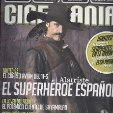 Cinema: REVISTA CINEMANIA, Nº 132, SEPTIEMBRE 2006: EL CAPITAN ALATRISTE - OFERTAS DOCABO. Lote 25628481
