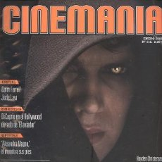 Cine: REVISTA CINEMANIA, Nº 112, ENERO 2005: STAR WARS, EPISODIO III. Lote 25628566