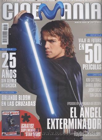 REVISTA CINEMANIA, Nº 116, MAYO 2005: STAR WARS, HAYDEN CHRISTENSEN (Cine - Revistas - Cinemanía)