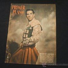 Cine: REVISTA PRIMER PLANO - PORTADA: MARIO CABRE - 22 JUNIO 1952 - Nº 610 - . Lote 25709217