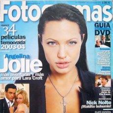 Cine: FOTOGRAMAS. REVISTA SEPT. 2003-ANGELINA JOLIE-RENEÉ ZELLWEGER, NICK NOLTE. Lote 27167263