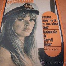 Cine: FOTOGRAMAS Nº 995 10 NOVIEMBRE 1967 ( BRITT EKLAND CLAUDINE AUGER CARROLL BAKER )( F1). Lote 289704743