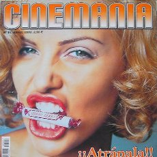Cine: CINEMANIA,REVISTA ABRIL 2003-CHARLIZE THERON-MATRIX-MERIL STREEP-COLIN FARRELL. Lote 26580788