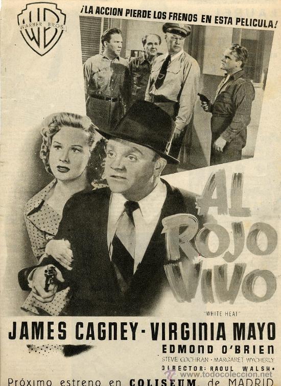 Al Rojo Vivo 1950 Cine Hoja Revista Comprar Reproducciones De Carteles De Cine Y Folletos De Películas En Todocoleccion 25909890