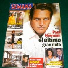 Cine: REVISTA SEMANA MEMORIA A PAUL NEWMAN 2008. Lote 27282948