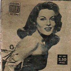 Cine: COLECCION IDOLOS DEL CINE Nº 46 AÑO II - UNION DISTRIBUIDORA DE ED. - 1958 (BELINDA LEE). Lote 25920024
