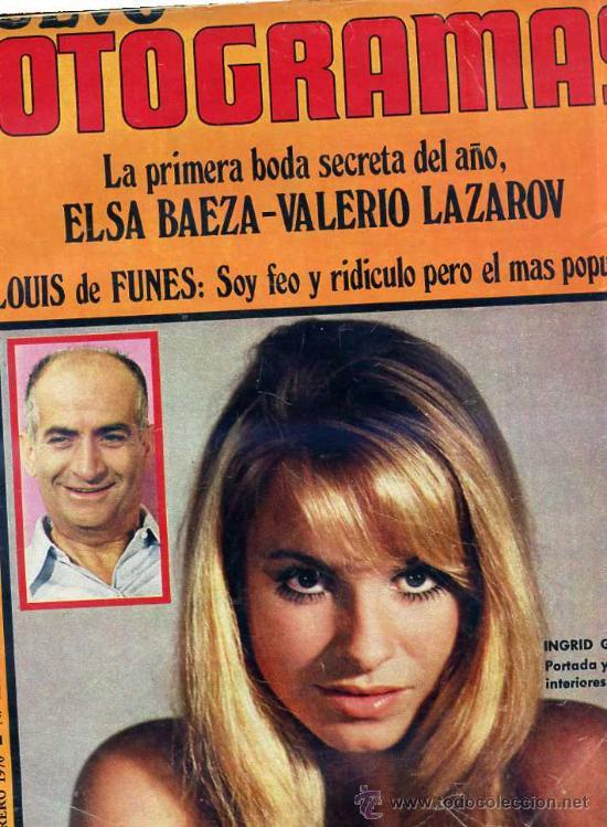 FOTOGRAMAS Nº 1112 - FEBRERO 1970 (Cine - Revistas - Fotogramas)