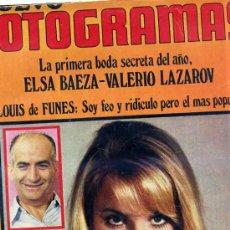 Cine: FOTOGRAMAS Nº 1112 - FEBRERO 1970. Lote 26064873