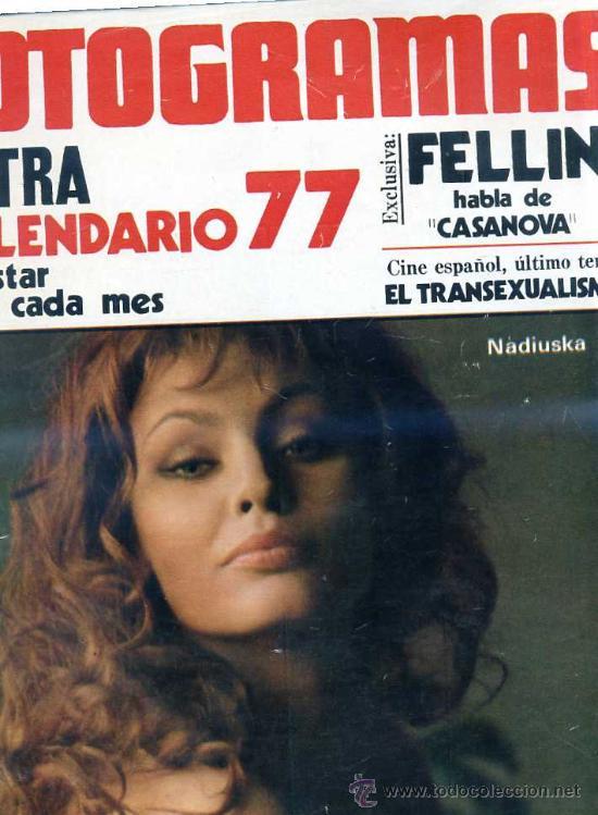 FOTOGRAMAS Nº 1469 - EXTRA CALENDARIO 77 (Cine - Revistas - Fotogramas)
