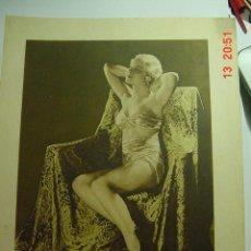 Cine: 129 MARY CARLYLE PRECIOSA LAMINA CENTRAL DE LA REVISTA FILMS SELECTOS AÑOS 1920. Lote 26095858