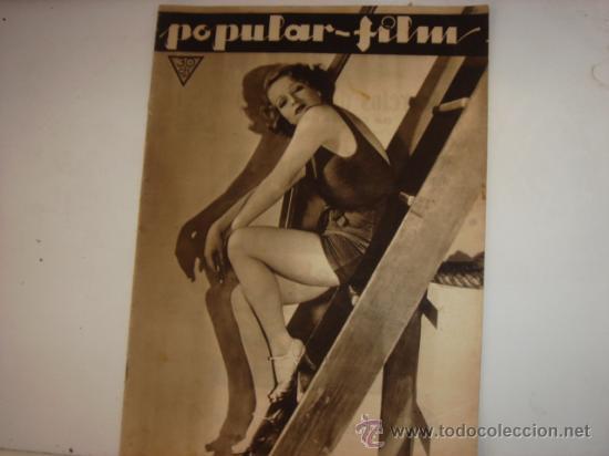 REVISTA POPULAR FILM (Cine - Revistas - Popular film)