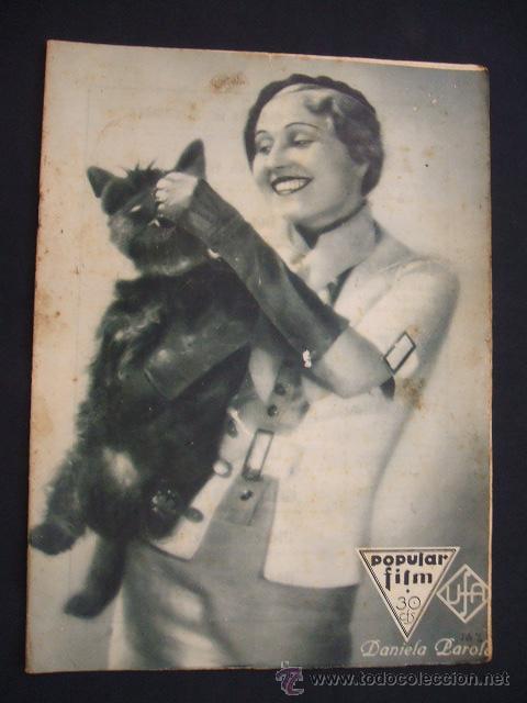 POPULAR FILM - Nº 332 ESPECIAL - 22 DICIEMBRE 1932 - PORTADA, DANIELA PAROLA - (Cine - Revistas - Popular film)
