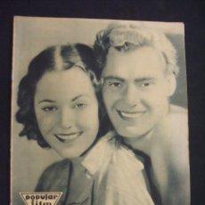 Cine: POPULAR FILM - Nº 330 - 8 DICIEMBRE 1932 - PORTADA, JOHNNY WEISMULLER Y MAUREEN O'SULLIVAN - . Lote 26405539