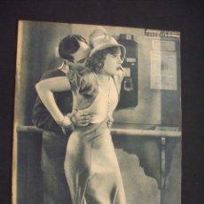 Cine: POPULAR FILM - Nº 312 - 4 AGOSTO 1932 - PORTADA, MARTA EGGERTH - . Lote 26406030