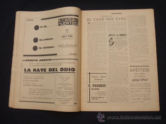 Cine: POPULAR FILM - Nº 332 ESPECIAL - 22 DICIEMBRE 1932 - PORTADA, DANIELA PAROLA - - Foto 4 - 26404960