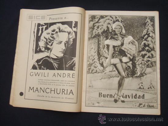 Cine: POPULAR FILM - Nº 332 ESPECIAL - 22 DICIEMBRE 1932 - PORTADA, DANIELA PAROLA - - Foto 6 - 26404960