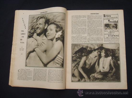 Cine: POPULAR FILM - Nº 332 ESPECIAL - 22 DICIEMBRE 1932 - PORTADA, DANIELA PAROLA - - Foto 8 - 26404960