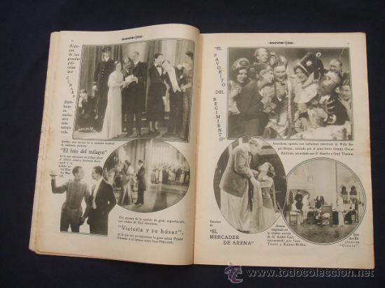 Cine: POPULAR FILM - Nº 332 ESPECIAL - 22 DICIEMBRE 1932 - PORTADA, DANIELA PAROLA - - Foto 9 - 26404960