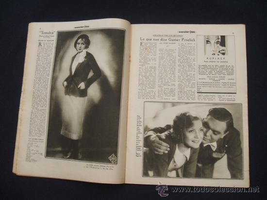 Cine: POPULAR FILM - Nº 332 ESPECIAL - 22 DICIEMBRE 1932 - PORTADA, DANIELA PAROLA - - Foto 10 - 26404960