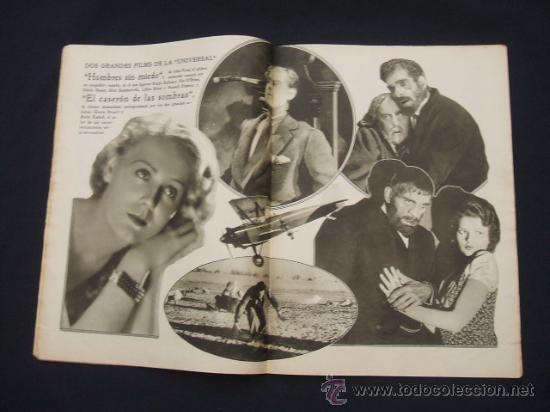 Cine: POPULAR FILM - Nº 332 ESPECIAL - 22 DICIEMBRE 1932 - PORTADA, DANIELA PAROLA - - Foto 12 - 26404960