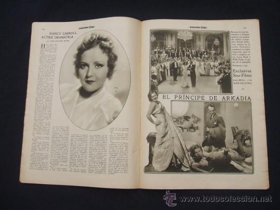 Cine: POPULAR FILM - Nº 332 ESPECIAL - 22 DICIEMBRE 1932 - PORTADA, DANIELA PAROLA - - Foto 14 - 26404960
