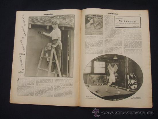 Cine: POPULAR FILM - Nº 332 ESPECIAL - 22 DICIEMBRE 1932 - PORTADA, DANIELA PAROLA - - Foto 15 - 26404960