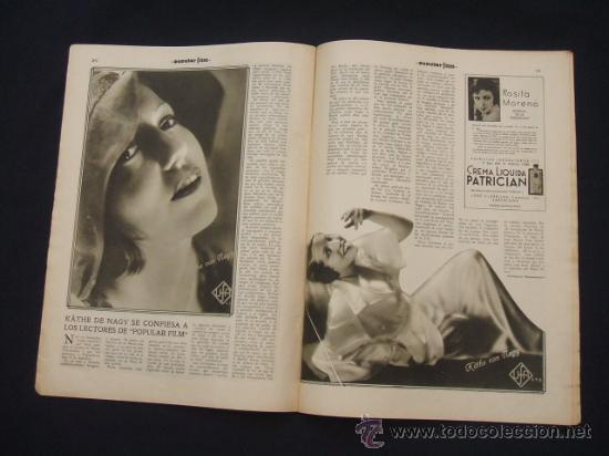 Cine: POPULAR FILM - Nº 332 ESPECIAL - 22 DICIEMBRE 1932 - PORTADA, DANIELA PAROLA - - Foto 16 - 26404960