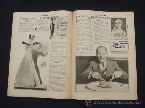 Cine: POPULAR FILM - Nº 332 ESPECIAL - 22 DICIEMBRE 1932 - PORTADA, DANIELA PAROLA - - Foto 17 - 26404960