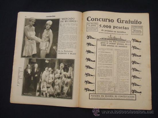 Cine: POPULAR FILM - Nº 332 ESPECIAL - 22 DICIEMBRE 1932 - PORTADA, DANIELA PAROLA - - Foto 18 - 26404960