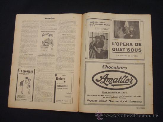 Cine: POPULAR FILM - Nº 332 ESPECIAL - 22 DICIEMBRE 1932 - PORTADA, DANIELA PAROLA - - Foto 22 - 26404960