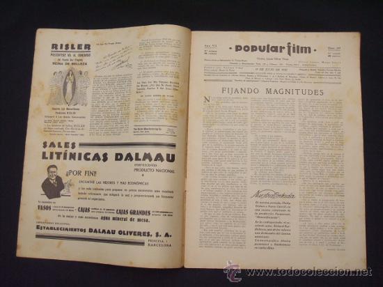 Cine: POPULAR FILM - Nº 309 - 14 JULIO 1932 - PORTADA, PHILLIP HOLMES Y NANCY CARROLL - - Foto 2 - 26405960