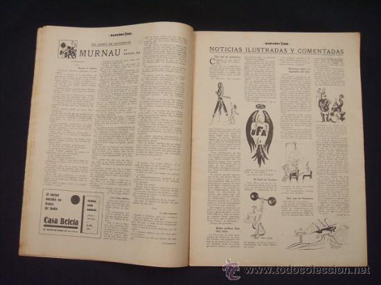 Cine: POPULAR FILM - Nº 309 - 14 JULIO 1932 - PORTADA, PHILLIP HOLMES Y NANCY CARROLL - - Foto 4 - 26405960